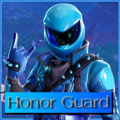 Honor Guard Skin Delivery