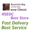 WTS WOW Classic Runecloth Bag, All server US/EU delivery!