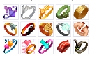 15 zOMG Rings (Includes Sweetheart)
