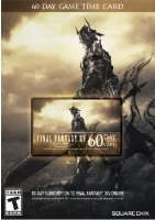FINAL FANTASY XIV ONLINE 60 DAY GAME TIME CODE [North American]