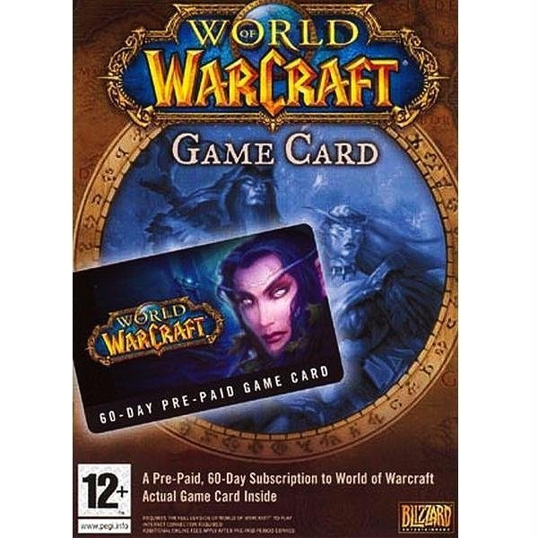 World of Warcraft 60-Day Pre-paid gane card