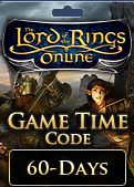 The Lord of the Rings Online 60-Day Game Time Code