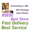 WTS Wow Classic Enchanting DIY 1-300 Package, All classic server US, Euro delivery!