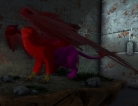 Clone 221 Griffin (Red/Pink) Pc Pve New