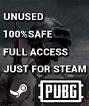 Playerunknown's Battlegrounds PUBG - Fresh (0 hours) (Steam Account) {Fast Delivery}(#)15296