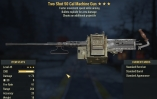 Two Shot Explosive Move speed AIM .50 cal Machine Gun (45lvl) - Delivery 3-5min!
