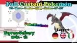 Pokemon Sword Shield - Full Custom 6IV Shiny Pokemon - Legit - Delivery <2h