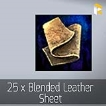 25 x Blended Leather Sheet