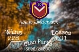 Name : WE R WARRIOR'S | Level 20 | CWL -: Master League 2 | Rare and Valueable Clan Name