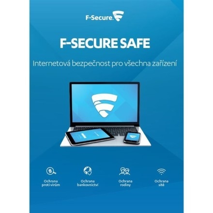 F Secure Safe 3 Devices , 6 Months