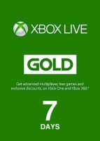 Xbox Live Gold 7 Days Code