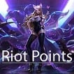 [EUW] 1265 Riot Points [I can not send RP. I can send skins, champions and more.]