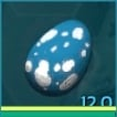 PC PVE NEW FERT ARGIE EGG 1504 BASE WEIGHT (1805 WHEN IMPTINTED)