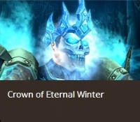 Crown of Eternal Winter--Removed from game transmog helm. Last item.