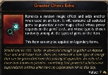 Wolcen - PC - Greater Ohm's Echo x200