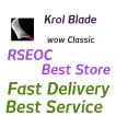 WTS Main Hand Sword Krol Blade Item Lvl 56, All classic server delivery!