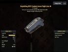 Unyielding(Weapons -20%Weights) BOS Combat Armor Right Arm