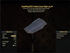 Unyielding(Weapons -20%Weights) BOS Combat Armor Right Leg