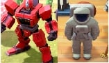 Rare dress up items,total 10items,click deescription(robot hero+monster statue+teacup ride+lighthouse+pool+giant teddy bear+Tower of Pisa+Statue of Li