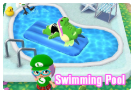Animal Crossing Swimming Pool