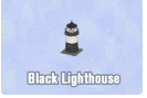 Animal Crossing Multiple Color Items--Black/Blue/Red/White/Yellow Lighthouse