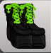 ( F ) Alien Academy Boots Green ~FAST SERVICE GUARANTEED