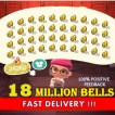 Cheap 18M Bells 1800 Gold Nuggets 60 Stacks / lnstant delivery Enough stock