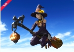 Mount: Witch's Broom (Single Character)