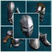 PC PVE NEW FLAK ARMOR CRAFT*5SET (average durability is 1000~1500) NOT BP-GOOD FOR BOSS FIGHT
