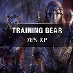 ✅⭐⚡[FULL EPIC TRAINING GEAR - 78% EXP]⭐⚡ [TESO PC-EU]