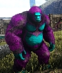 Male Aberrant Gigantopithecus level 191,Points Available 9,PC PVE New Offcial server