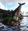 Basilosaurus Level 298,Points Available 12,Melee DMG 814,clone male + saddle,PC PVE New Offcial server