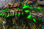 Aberrant AnKylosaurus Level 199 ,Points Available 59,Base  DMG 1033,female + saddle, PC PVE New Offcial server