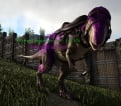 Aberrant Megalosaurus Level 375,Points Available 53.,melee damage 1201,male,PC PVE New Offcial server