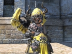 [90,000 FeedBack] -FFXIV Ten Pots of Metallic Yellow Dye- All Servers