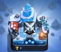 LVL 13 - 6490 HIGHEST TROPHIES - 14 MAX CARDS  20+ TO BE MAXED 30K+ GOLD/ 787 GEMS/ 27 EMOTES - 3 TOWERS