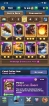 CHEAP AND SUPER STRONG LEVEL 13 ACCOUNT // 32 CARDS MAXED // 4 LEGENDARY MAXED // YOU CAN 70 CARDS MAXED ONLY NEEDS GOLD // 47 EMOTES // 8 TOWER SKINS