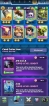 CHEAP AND SUPER STRONG LEVEL 13 ACCOUNT // 35 CARDS MAXED // YOU CAN MAXED 61 CARDS ONLY NEED GOLD // 3 LEGENDARY MAXED // 7 SKIN TOWER // 60 EMOTES