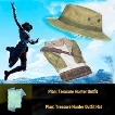 Treasure Hunter Outfit + Hat Plans 2in1