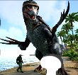 Therizinosaurus with the best stats for pvp l ARK OFFICIAL SMALL TRIBES PVP STEAM-EPICGAMES ONLY