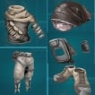 PC PVE NEW DESERT CLOTH CRAFT*5SET (average durability is 380~500) NOT BP-GOOD FOR Scorched earth