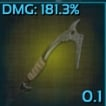 PC PVE NEW TOP DURA CLIMBING PICK CRAFT *15 (NOT BP) -durability 496~700 GOOD FOR CAVE RUN