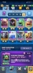 LEVEL 13 ACCOUNT WITH STRONG CLAN // 68 CARDS MAXED // 10 LEGENDARY MAXED // NAME CLAN BAD BOYS ,CUP 2510 //2048 GEM //1233 MIL GOLD//CHANGE NAME FREE