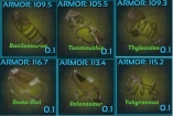 PC PVE NEW 105~124ARMOR SADDLE*5 CRAFT SERVICE (NOT BP)