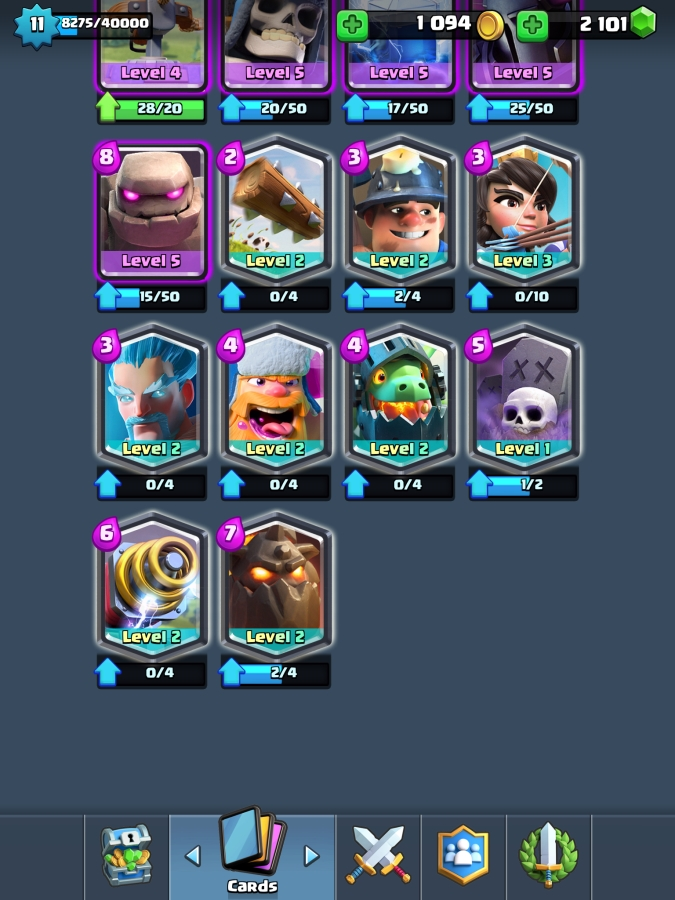 Level 11 acc - 25 Legendaries - (For Sale Offer #123990477 ...