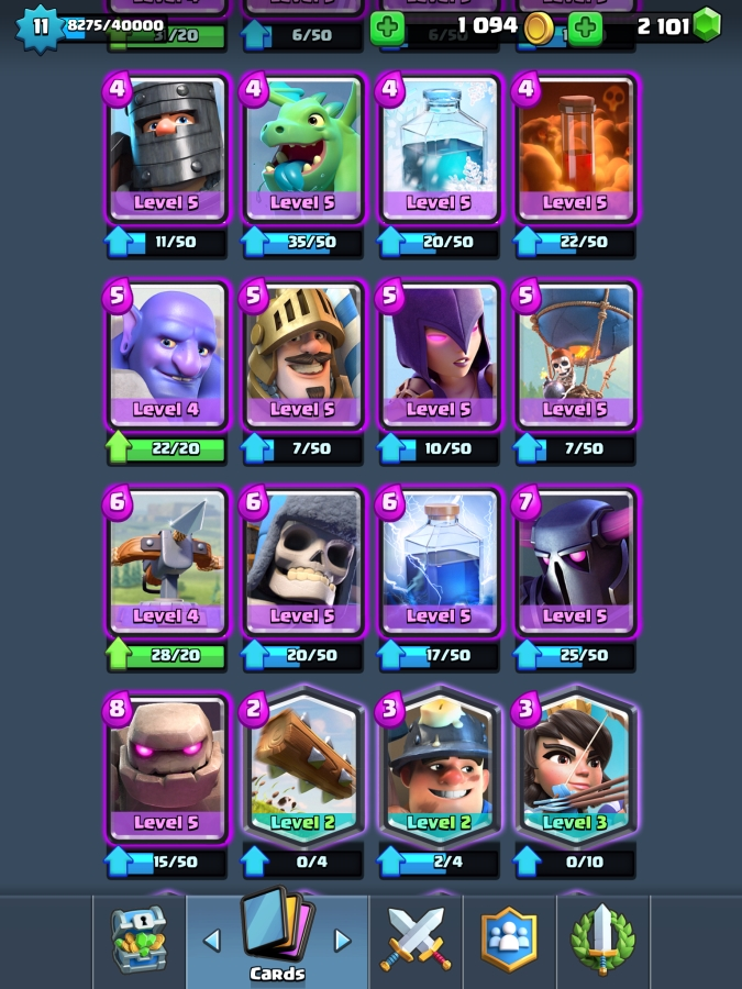 Level 11 acc - 25 Legendaries - (For Sale Offer #123823224 ...