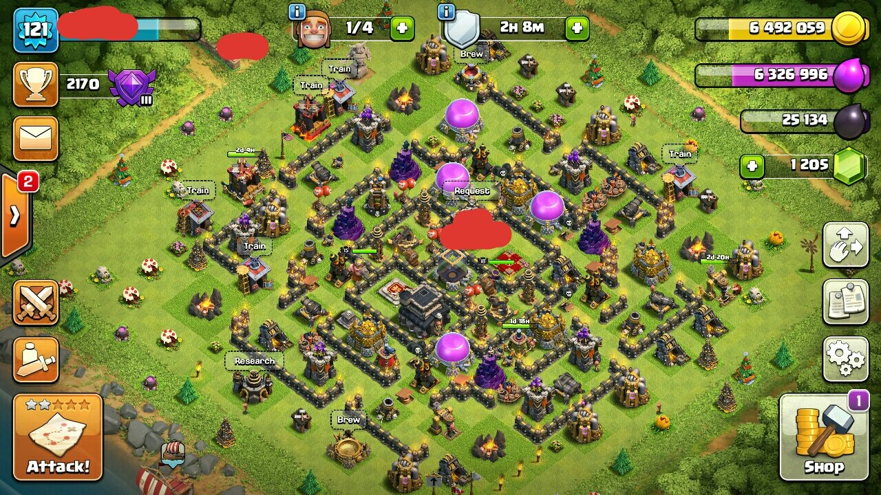 how to get many gems in clash of clans
