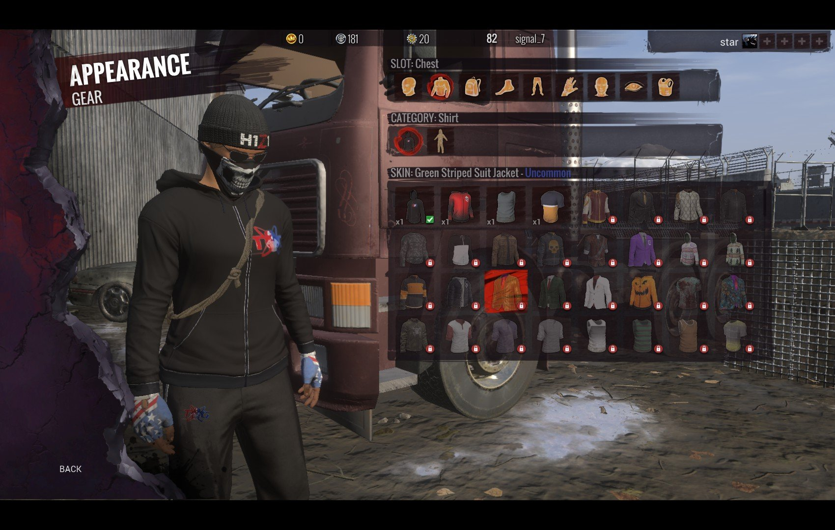 h1z1 kotk how to get twin galaxies hoodie