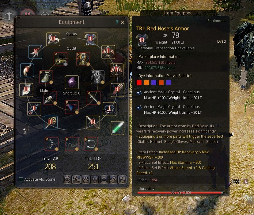 Bdo Duo Blue Coral Ring