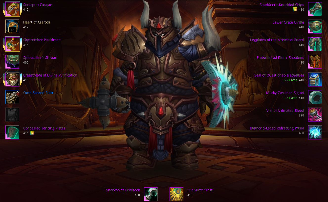 413 Protection Warrior- MoP Challenge Mode Set- Mage Tower